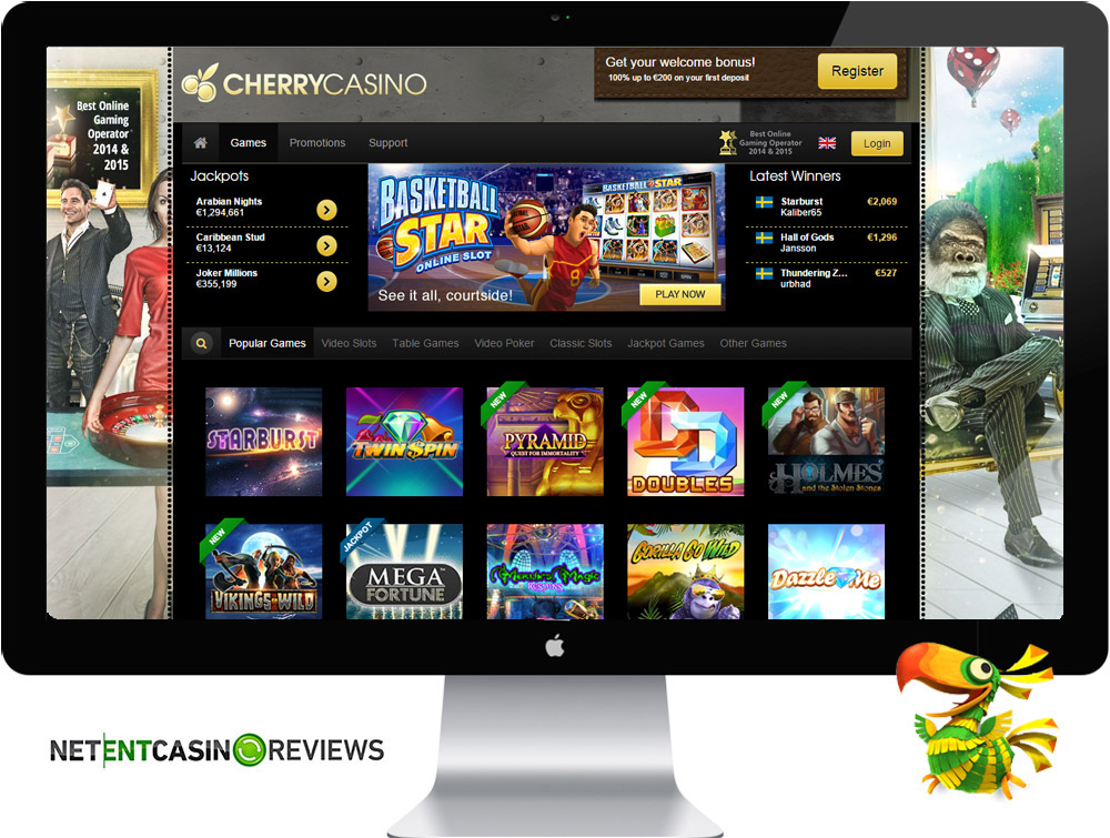 Cherry Casino Games review