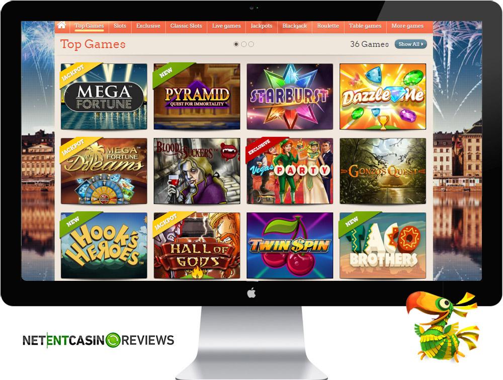 leovegas games casino review