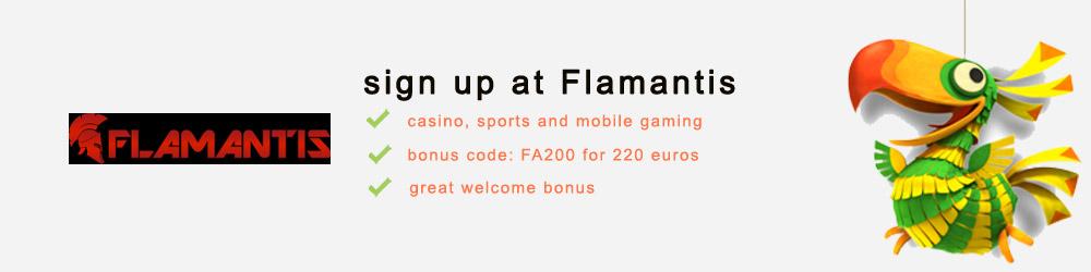 Play at Flamantis casino