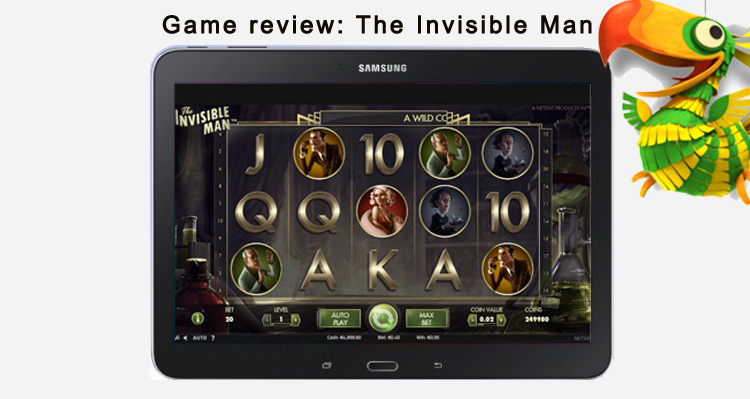 Invisible man game review